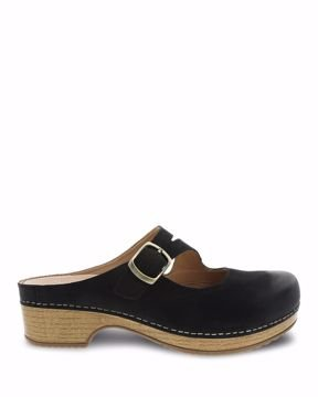 Britney Black Burnished