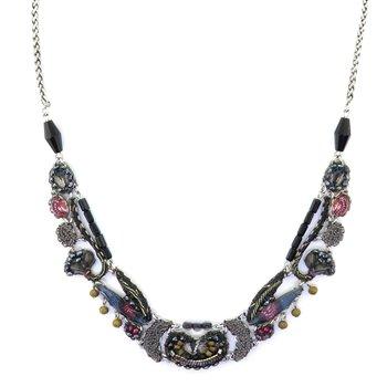 Moon Jet Necklace