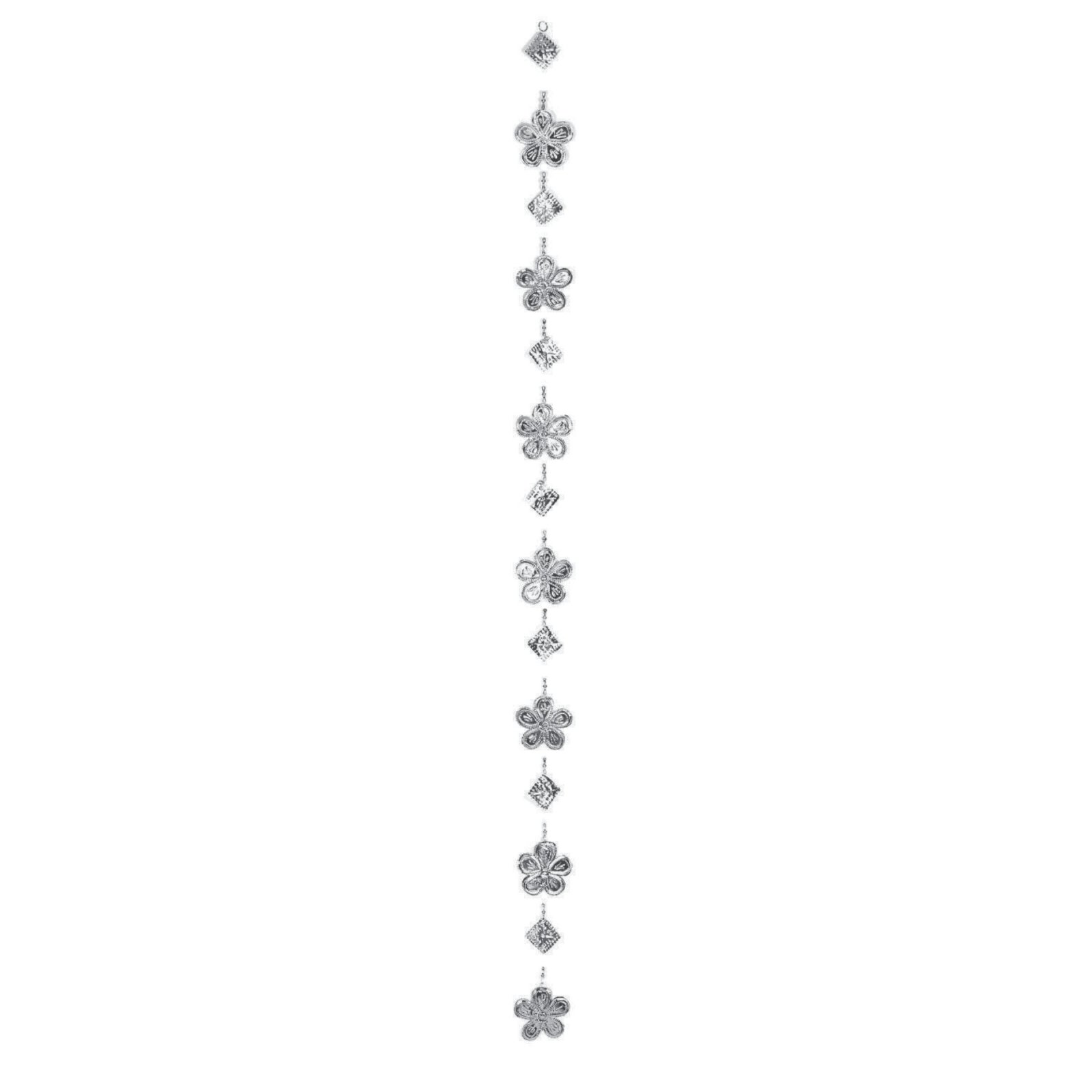 Tin Ornament Strands