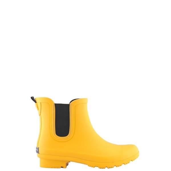 Chelsea Matte Ankle Rain Boots