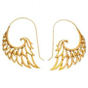 Brass Angel Wings H 5011