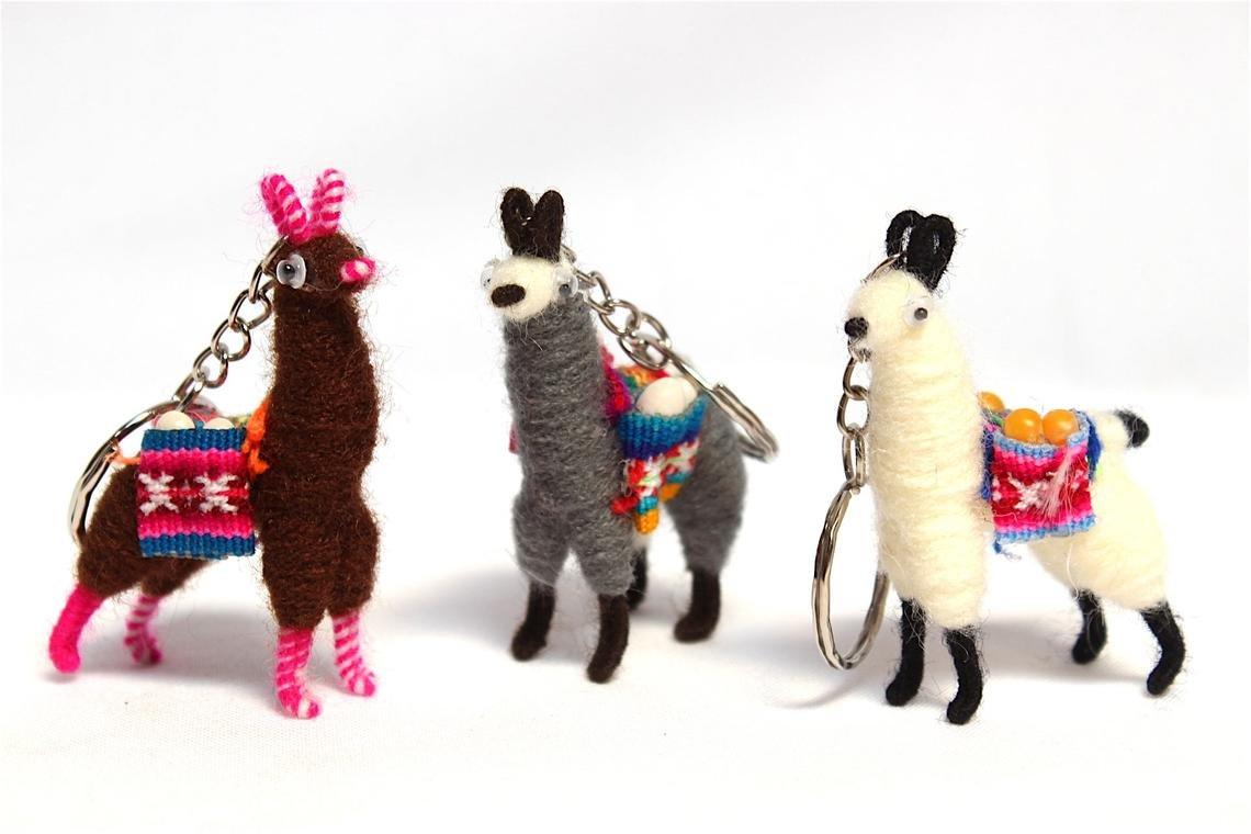 Llama Keychain S.A.S