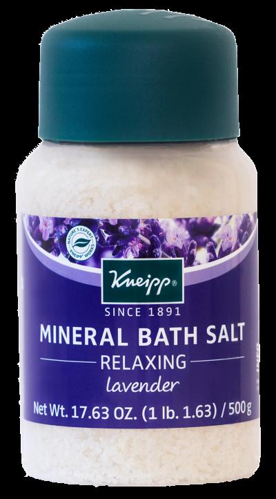 MINERAL BATH SALT RELAXING Bottle