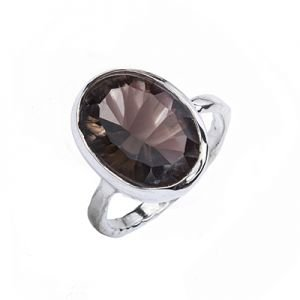 Amargo Silver Concave Ring