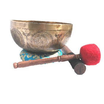 Singing Bowl - 8 Hand Hammered Chakra - SBT-2015