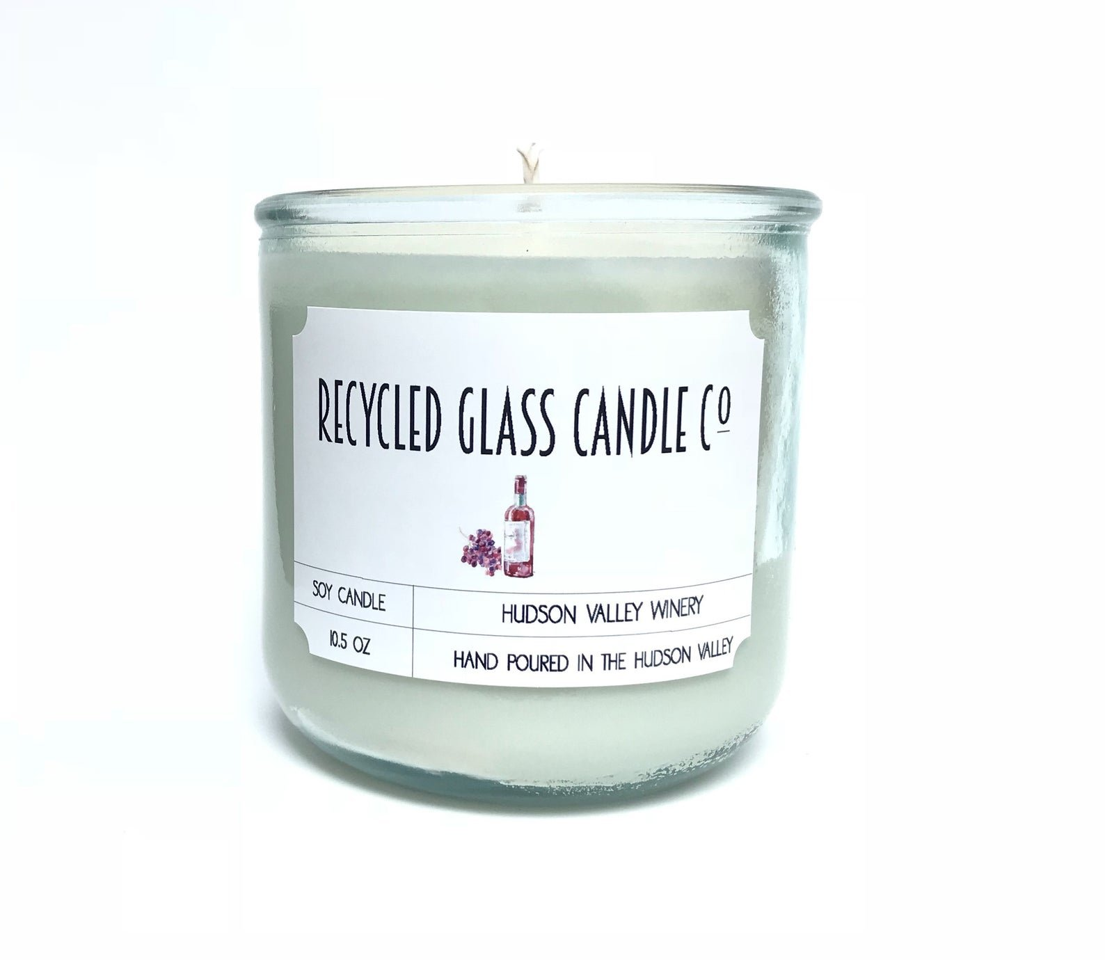 Recycled Glass - Scented Candles