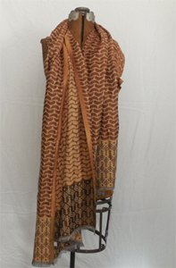 Double Cashew Rayon Shawl - India