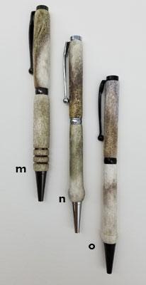 Handcrafted Deer Antler Pens