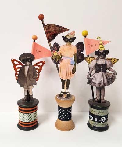 Spooky Spoolies Art Kits to Go