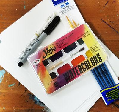 Art Challenge Supply Kit