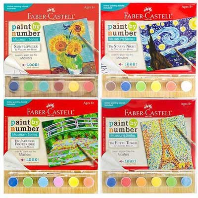 Museum Series Paint by Numbers Kits