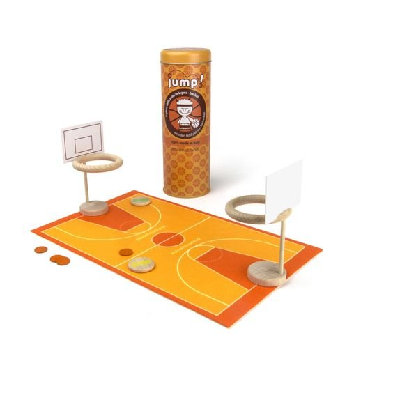 Jump Tiddlywinks Basketball