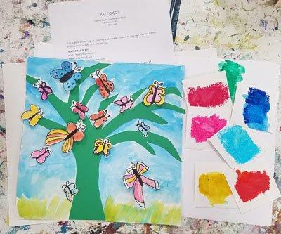 Butterfly Tree Art Kits to Go