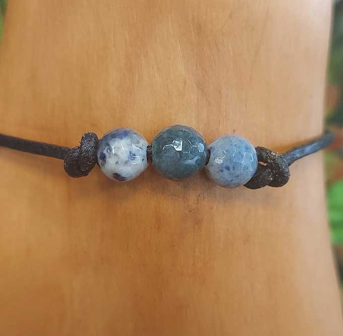 Dendritic & Moss Agate Bracelet