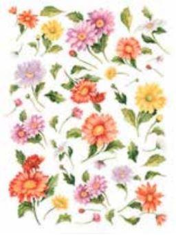 Calambour Summer Flowers Rice Paper Decoupage DGR37