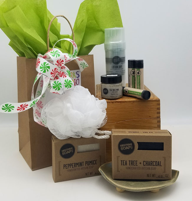Siberian Soap Exfoliate Grab & Gift