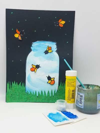 Fireflies Art to Go Kit