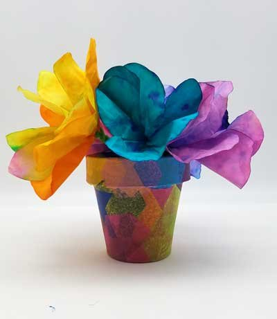 Flower Pot Art to Go Kit