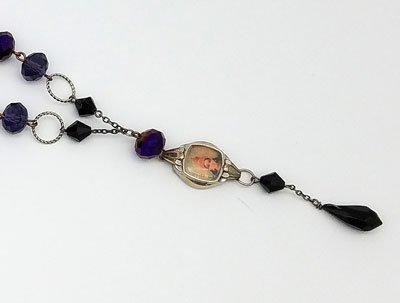 Goddess Vintage Watch Face Necklace