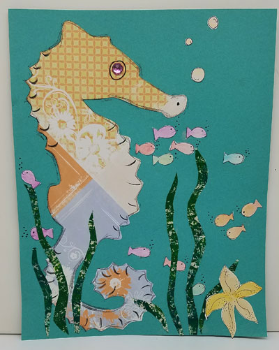 Seahorse Art Kit