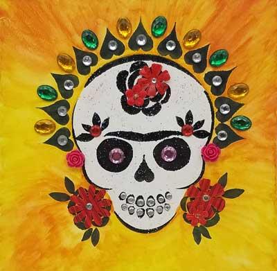 Dio De Los Meurtos Sugar Skull Art to Go Kit