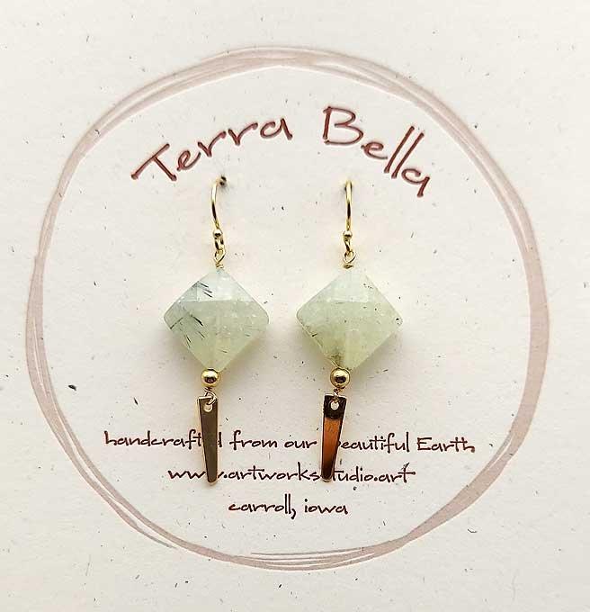 Tourmaline Quartz 14kt Gold Filled Earrings