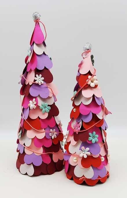 Valentine Trees Art Kit to Go