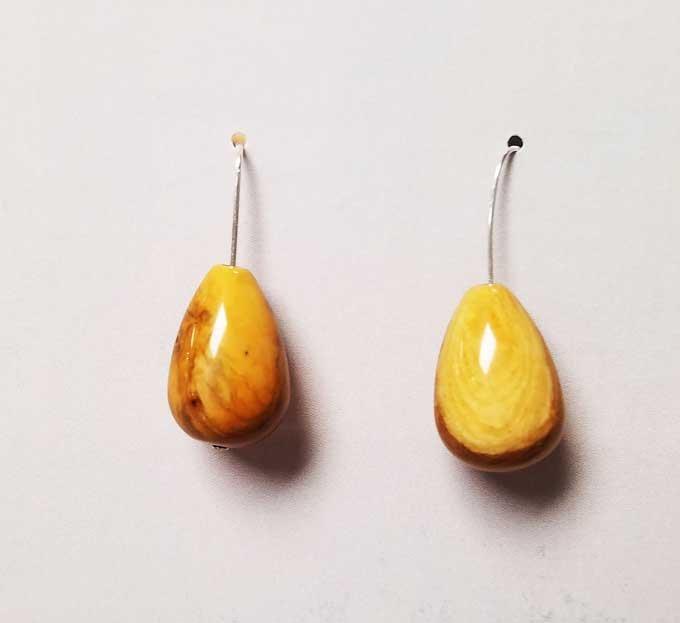 Yellow Jasper Earrings