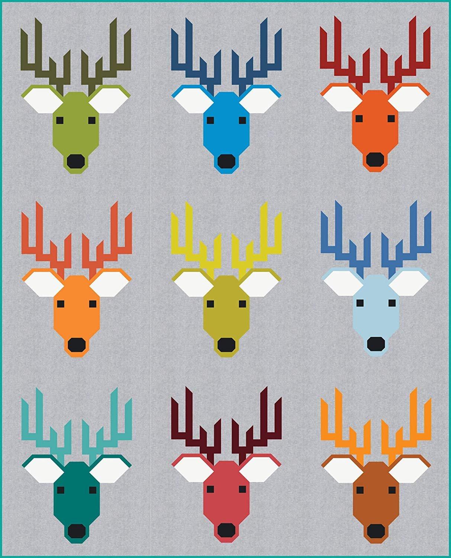 Dwight the Deer Quilt Kit - Elizabeth Hartman