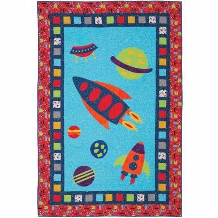Quilt Kit - Space Trip