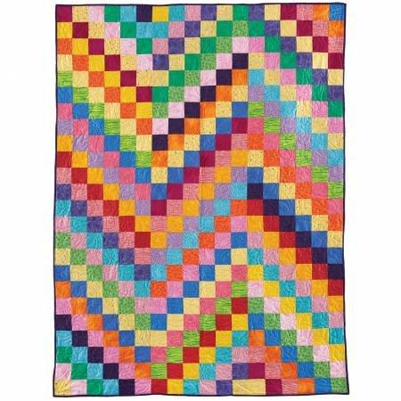 Quilt Kit - Zigzag Squares