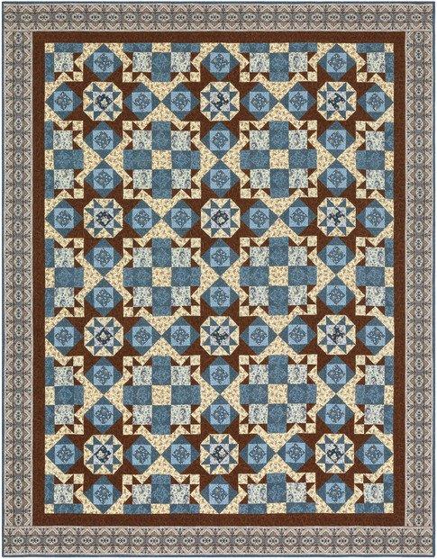 Charlie's Star Quilt Kit - Charlotte c. 1860