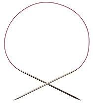 Nickel Plated Fixed Circular Knitting Needles - 24
