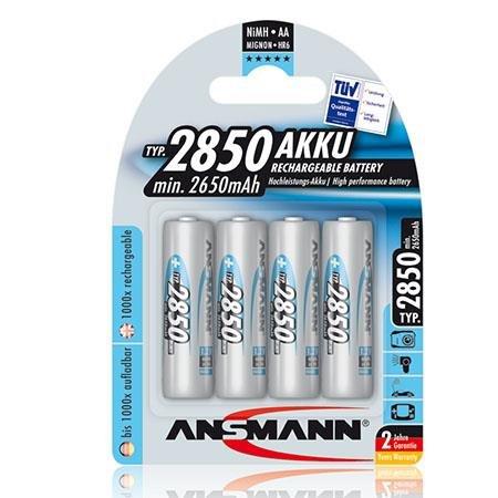 Ansmann Rechargeable AA Batteries
