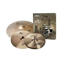 A Zildjian City Cymbal Set