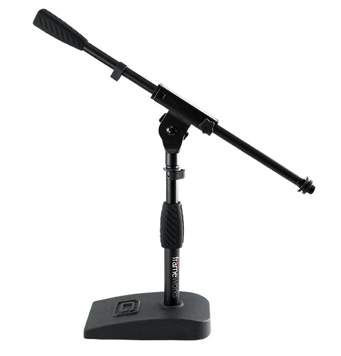 Compact Base Bass Drum and Amp Mic Stand