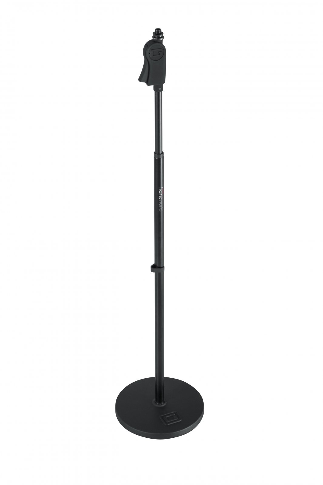 Gator Cases Frameworks 10 Round Base Microphone Stand With Twist Clutch