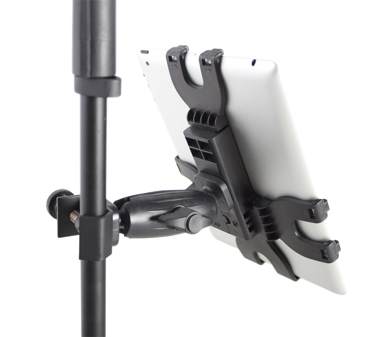 iPad Tablet Tray with Adjustable Clamp Mount