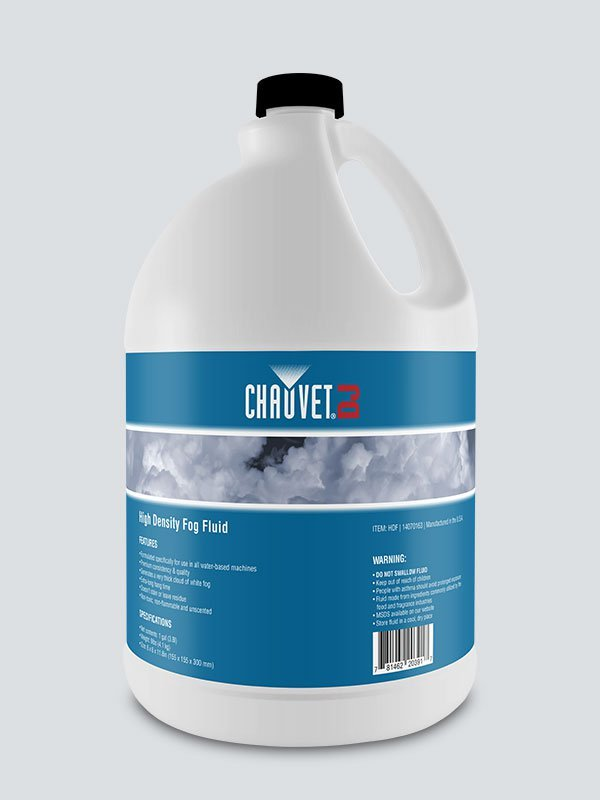 Chauvet High Density Fog Fluid  (gallon)