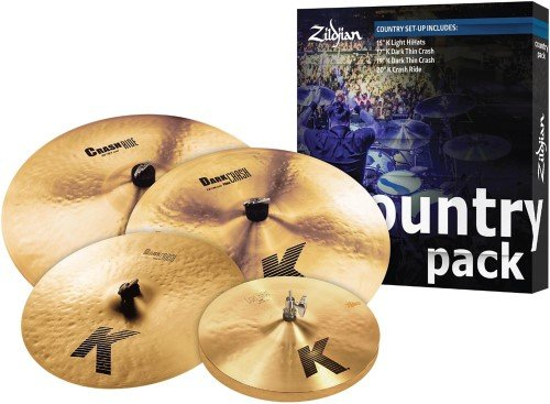 K Zildjian Country Cymbal Set