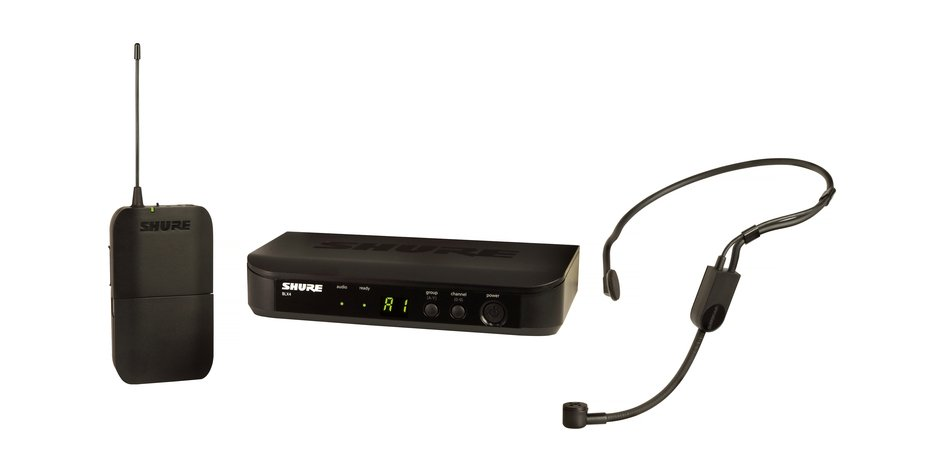 Shure BLX14/P31-H10 Wireless System with PGA31 Headset Microphone
