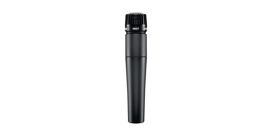 Shure Sm57-x2u Dynamic Plug-in Professional Microphone
