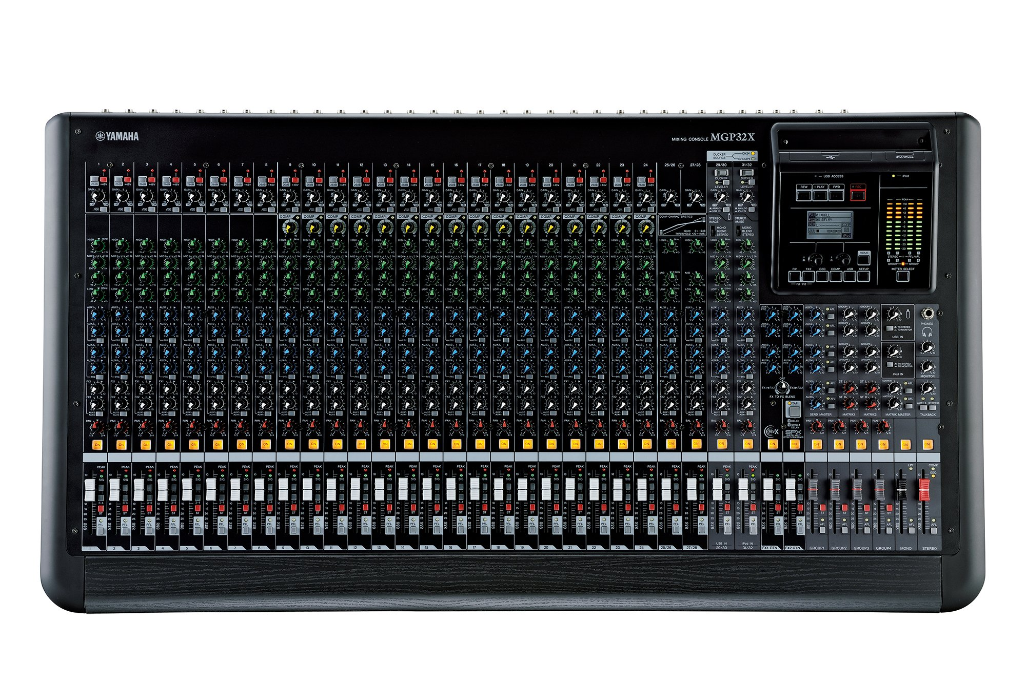 Yamaha MGP32X 32-Channel Analog Mixing Console with DSP Effects