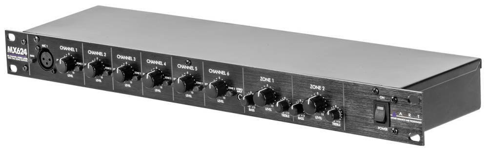 ART MX624 Six Channel Stereo Mixer