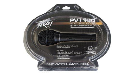 PVi 100 Microphone - XLR w/ clam shell