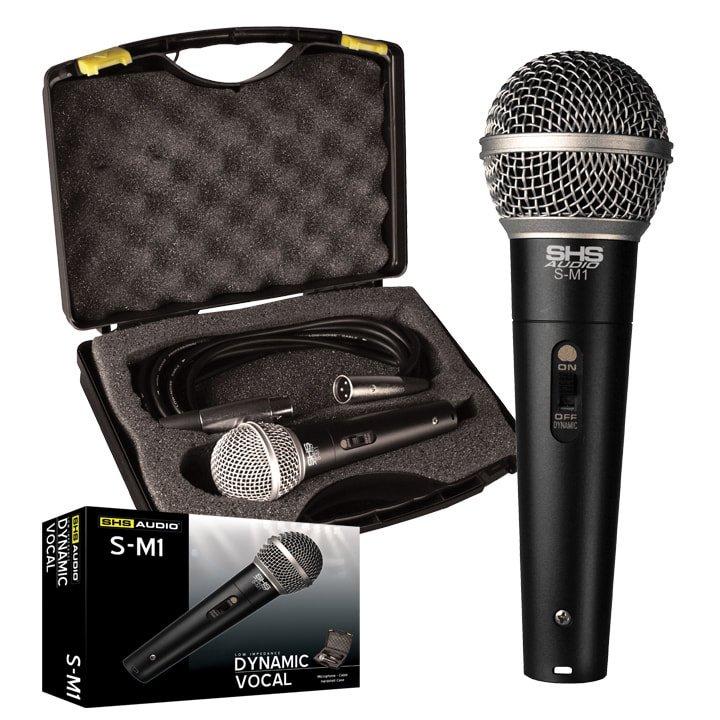 SHS S-M1 Microphone W/ Case & XLR Cable