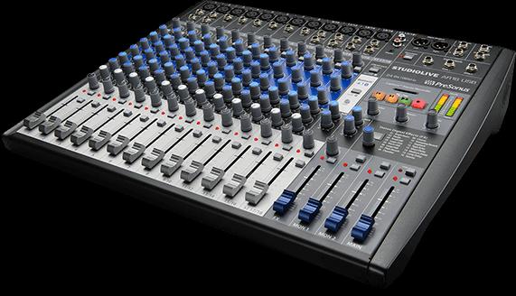 Presonus Studiolive Ar16 Usb Analog Mixer & Digital Recording Mixing Desk