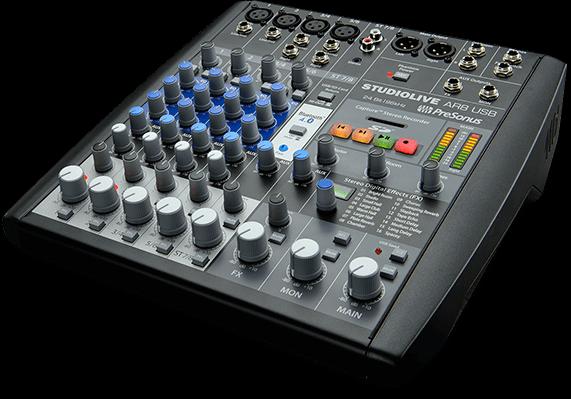 Presonus Studiolive Ar8 Usb Analog Mixer & Digital Recording Mixing Desk