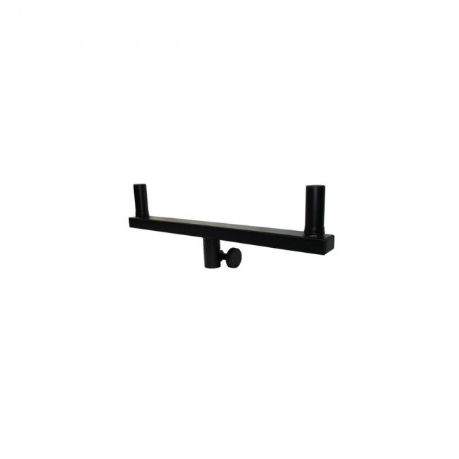 Double Adjustable Speaker Stand Bracket Black