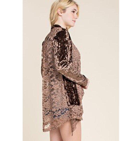 Velvet & Lace Jacket